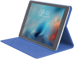 TUCANO - Tucano Angolo Apple iPad 9.7'' Katlanır Tablet Kılıfı - Blue